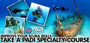 PADI_Specialty_courses